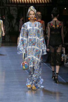 Sfilata Donna Dolce & Gabbana Estate 2016
