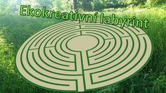 Ekokreativní labyrint - Nonstop bezplatně veřejně přístupný, kreativní, ekologický a do přírody zapadající labyrint (rozdíl od bludišť: je v nich možná pouze 1 cesta). Stepping Stones, Outdoor Decor, Stair Risers