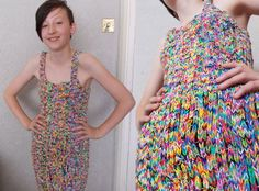 So Cool: A Dress Made From Loom Bands Sold for $291,000 on Ebay