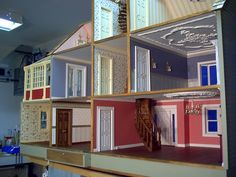 If I were to do another dollhouse, I love this one from The Little Dollhouse Company in Toronto, especially the curved staircase!