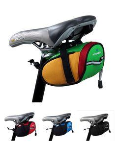 Đến New Roswheel Đi Xe Đạp Ngoài Trời Xe Đạp Leo Núi Xe Đạp Saddle Bag Lại Seat Tail Pouch Package Black/Green/Blue/đỏ