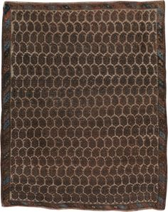 Antique Persian Afshar Rug, No. 12058 - 4ft. 3in. x 5ft. 4in.