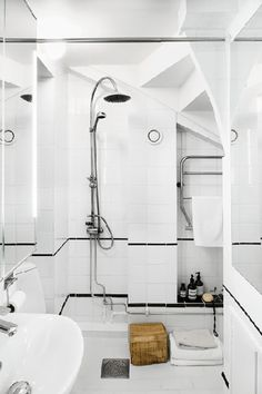 Wet Room - Get Inspired By European Small Space Design - Photos