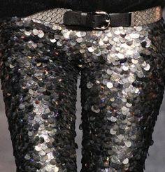 Isabel Marant sequin leggings - fall 2010