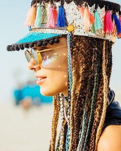 Ideas hat photography fashion headpieces for 2019 Rave Costumes, Festival Costumes, Festival Outfits, Festival Fashion, Burning Man Fashion, Burning Man Outfits, Burning Man Hair, New Look Fashion, Mens Fashion