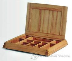 Making Boxes - Woodworking Plans and Projects | WoodArchivist.com