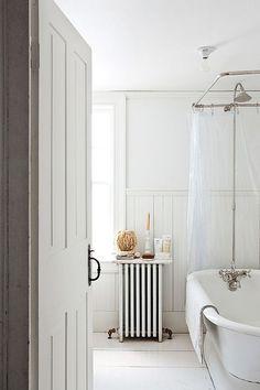à la maison avec john derian / sfgirlbybay Bad Inspiration, Bathroom Inspiration, Interior Inspiration, Bathroom Interior Design, Interior Decorating, Bathroom Styling, Bathroom Designs, Bathroom Trends, Laundry In Bathroom