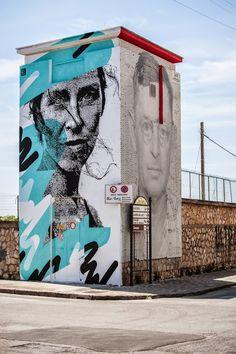 Eime New Mural For Memorie Urbane - Gaeta, Italy