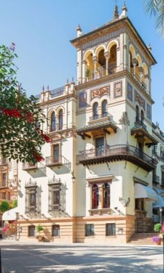 A Luxury Weekend in Seville, Spain - The Alfonso XIII, a Luxury Collection Hotel is one of Spain's most iconic hotels, a grand dame, which was recently restored to its former glory.