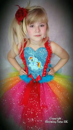 My Little Pony Rainbow Dash Inspired Super by BloomingTutusUK