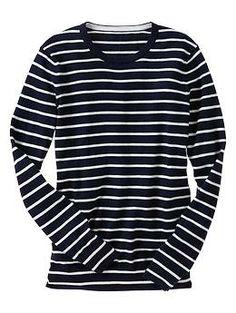 luxlight stripe sweater / gap
