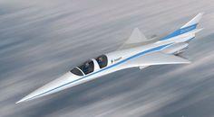 Supersonic Passenger Liner Supersonic Flight for Passengers