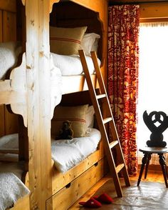 cozy bunks.