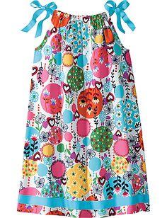 I love pillowcase dresses.