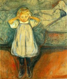 "Edvard Munch...LOL ...looks like a mini ""scream"""