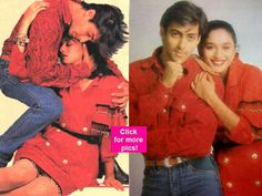 These pictures of young Salman Khan and Madhuri Dixit are the best ones you will see today!