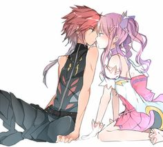 Aisha - DW and Elsword - IS (Elsword) ♡
