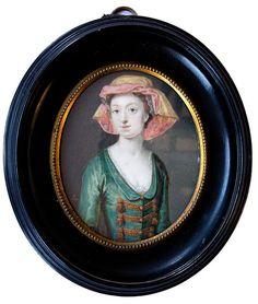 fran oise marie de bourbon as duchesse de chartres later d 39 orleans 1677 1749 ca 1692. Black Bedroom Furniture Sets. Home Design Ideas