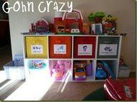kids toy organization