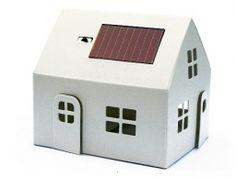 Domeček se solárním panelem