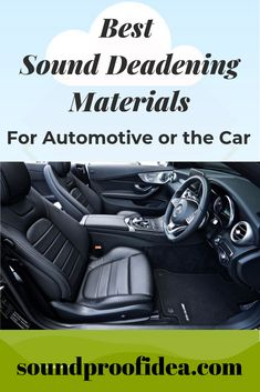 If you are searching for top 5 best automotive or automobile sound deadening material which are cost effective then here we have list of all together. Soundproofing Material, Types Of Sound, Car Sounds, Insulation Materials, Diy Car, Sound Proofing, Sound Waves, Car Stuff, Rv