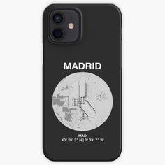 Designs, Madrid, Iphone Cases, Iphone Case, I Phone Cases