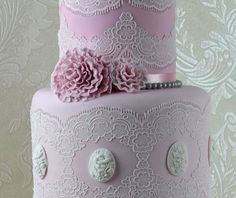 Tiffany 3D Cake Lace Strip By Claire Bowman