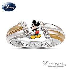 Mickey Mouse Ring for Women - Believe in the Magic