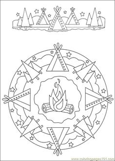 food coloring mandalas | Coloring Pages Mandalas 033 (Other > Painting) - free printable ...