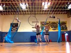 A few creative doubles tricks, and I like the 4-person build. (Un)Veiled final spring rehearsal