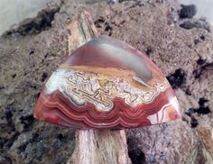 Crazy Lace Agate Handmade Cabochon by txrockhound on Etsy, $25.00