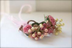 Autumn Woodland Floral Fairy Hair CrownWedding by SophieandMoe, $25.00