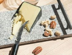 Urban Serving Tray with Cheese Knife Cheese Knife, Your Favorite, Centerpieces, Tray, Dining Table, Candles, Crafts, Food, Manualidades