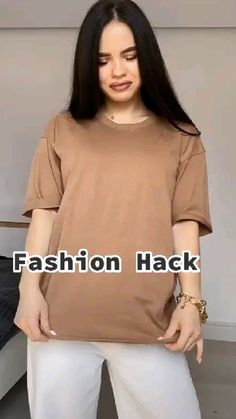Teen Fashion Outfits, Cute Fashion, Trendy Fashion, Diy Clothes Life Hacks, Clothing Hacks, Mode Ootd, Mode Hijab, Cute Casual Outfits, Chic Outfits