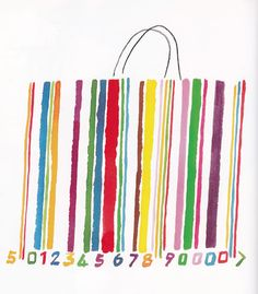 Alan Fletcher uses media such as pain and pastel to create the distinctive look of his work. I think this design would work well on large poster designs along with his style of text. Cultura Pop, Barcode Design, Royal College Of Art, Scrapbooking, Design Art, Illustration Art, Design Inspiration, Graphic Designers, Prints