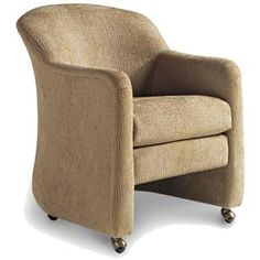 Jessica Charles Fine Upholstered Accents Ritz Game Arm Chair with ...