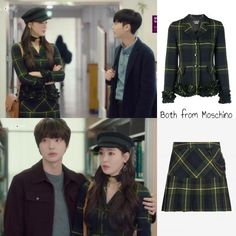 The Beauty Inside - Lee Da-hee - Episode Luna Fashion, Fashion Tv, Korea Fashion, Fashion Beauty, Girl Fashion, Pencil Skirt Black, Beauty Inside, Kpop Outfits, Types Of Dresses