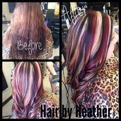 Hair by Heather.