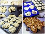 briošky Desert Recipes, Mashed Potatoes, Muffin, Cooking, Breakfast, Ethnic Recipes, Food Deserts, Braids, Pie