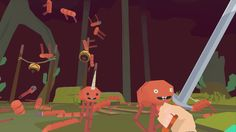 Dad by the Sword is about a dad, a sword and dancing hot dogs