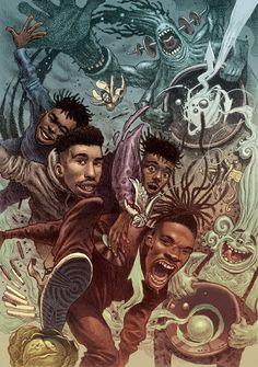 Arte Do Hip Hop, Hip Hop Art, Illustrations, Illustration Art, Art Grants, Black Art Pictures, Hip Hop And R&b, Black Artwork, Hip Hop Dance