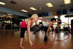 Hula Hoop Fitness!  My new at-home work out love!!!