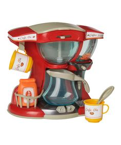 Take a look at this Cook 'n' Kitchen Coffee Bar Play Set by Lanard on #zulily today!