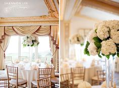 elegant ivory wedding.