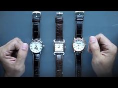 Como Identificar Relojes de Lujo Falsos - Cartier, Rolex, Montblanc y Mas. Cartier, Rolex, Youtube, Silver, Accessories, Luxury Watches, Youtubers, Youtube Movies, Money