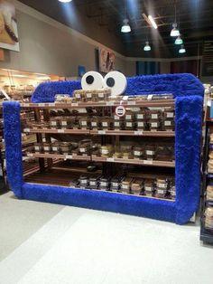 Monster Cookie Monster Cookie Display at Walmart ca0fbbd77