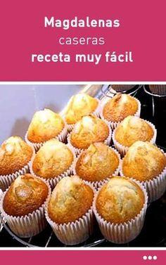 caseras, receta muy fácilCazères Cazères (Occitan: Casèras) is a commune in the Haute-Garonne department in southwestern France. Donut Recipes, Mexican Food Recipes, Sweet Recipes, Cake Recipes, Cooking Recipes, Cupcakes, Cupcake Cakes, Healthy Desserts, Delicious Desserts