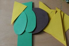 Integrating Shapes and Sensory into Art:  A Sunflower Craft