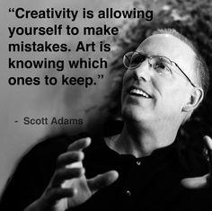 Scott Adams, Creator of the comic Dilbert