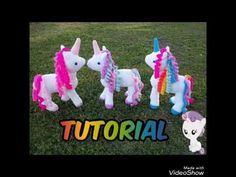Tutorial unicornio Amigurumi (parte 1) - YouTube